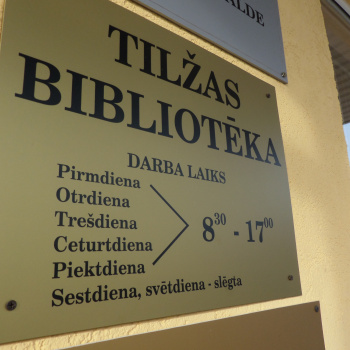 Tilžas pagasta bibliotēka